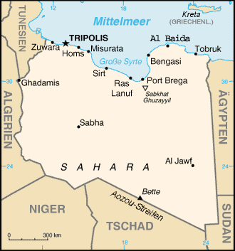 List of cities in Libya Wikipedia