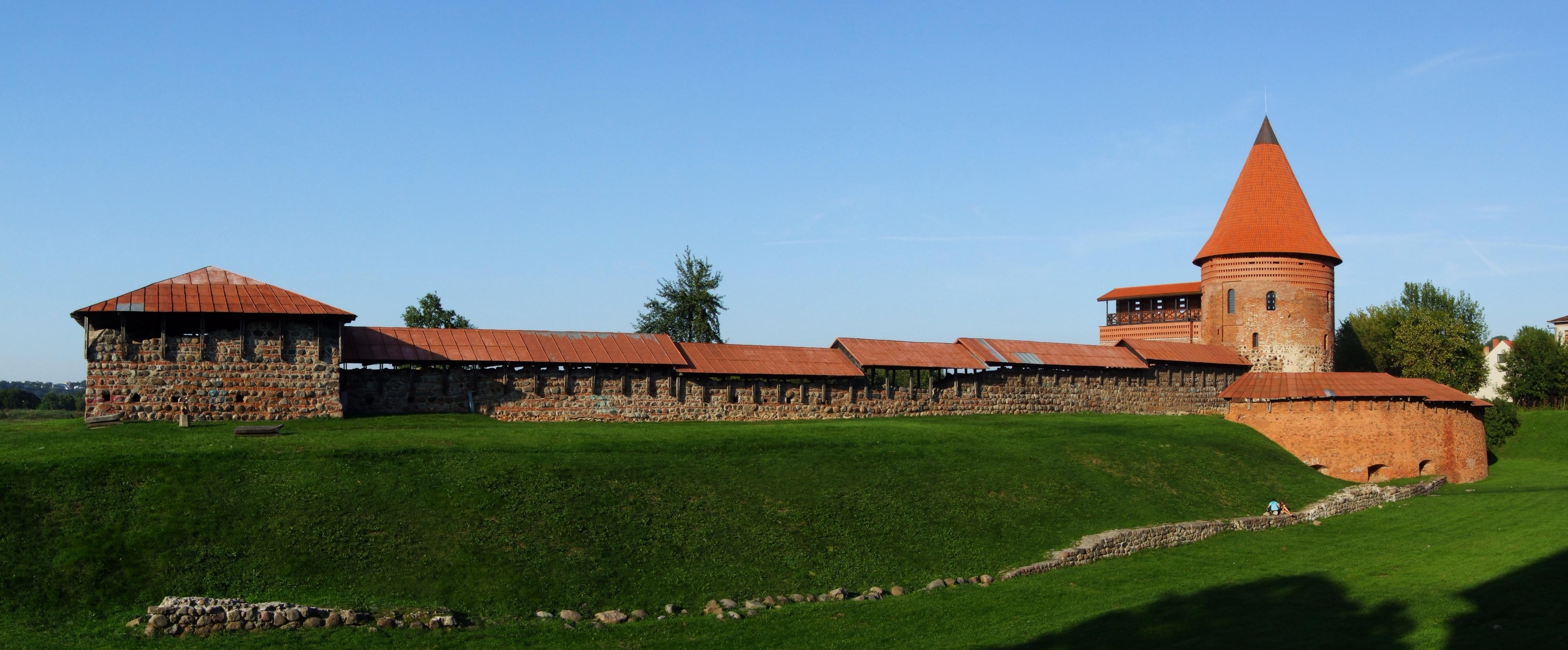 Каунасский замок в Литве