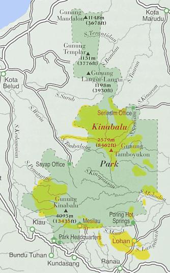 הפארק הלאומי קינבאלו