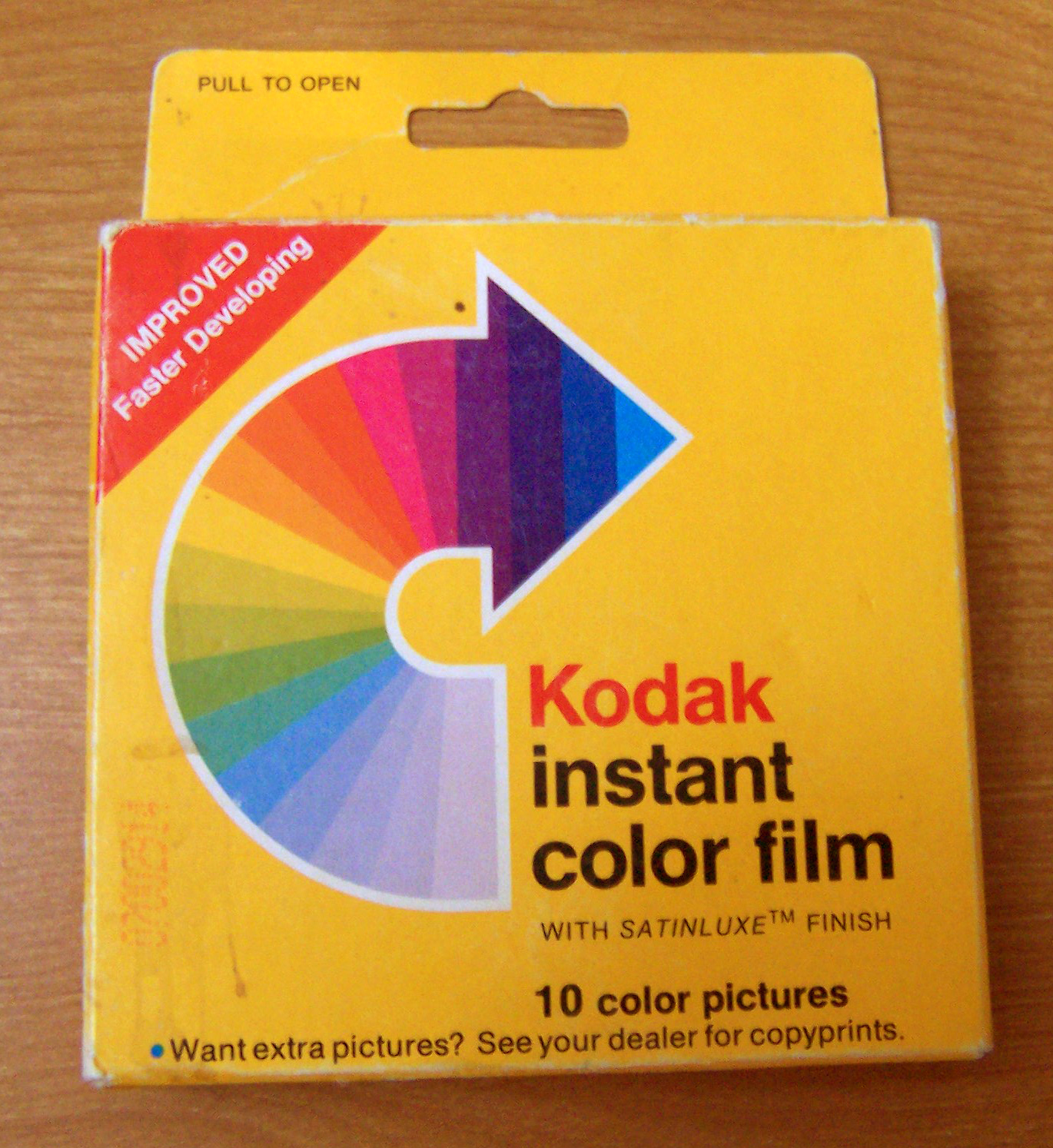 10 Sheets Polaroid PIF300 Instant Film Replacement