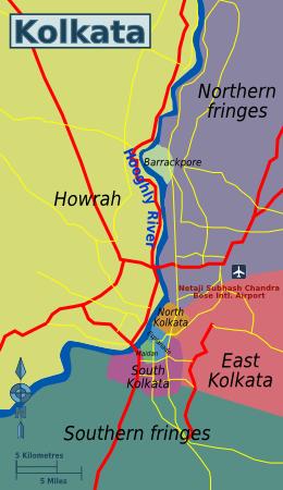 Kolkata Travel Guide Map