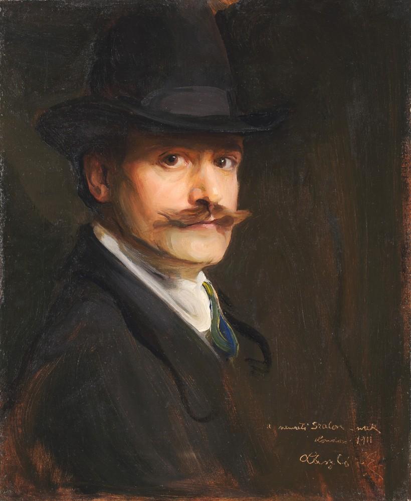 Автопортрет, 1911