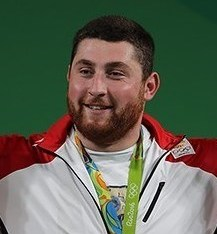 Lasha Talakhadze Georgian weightlifter