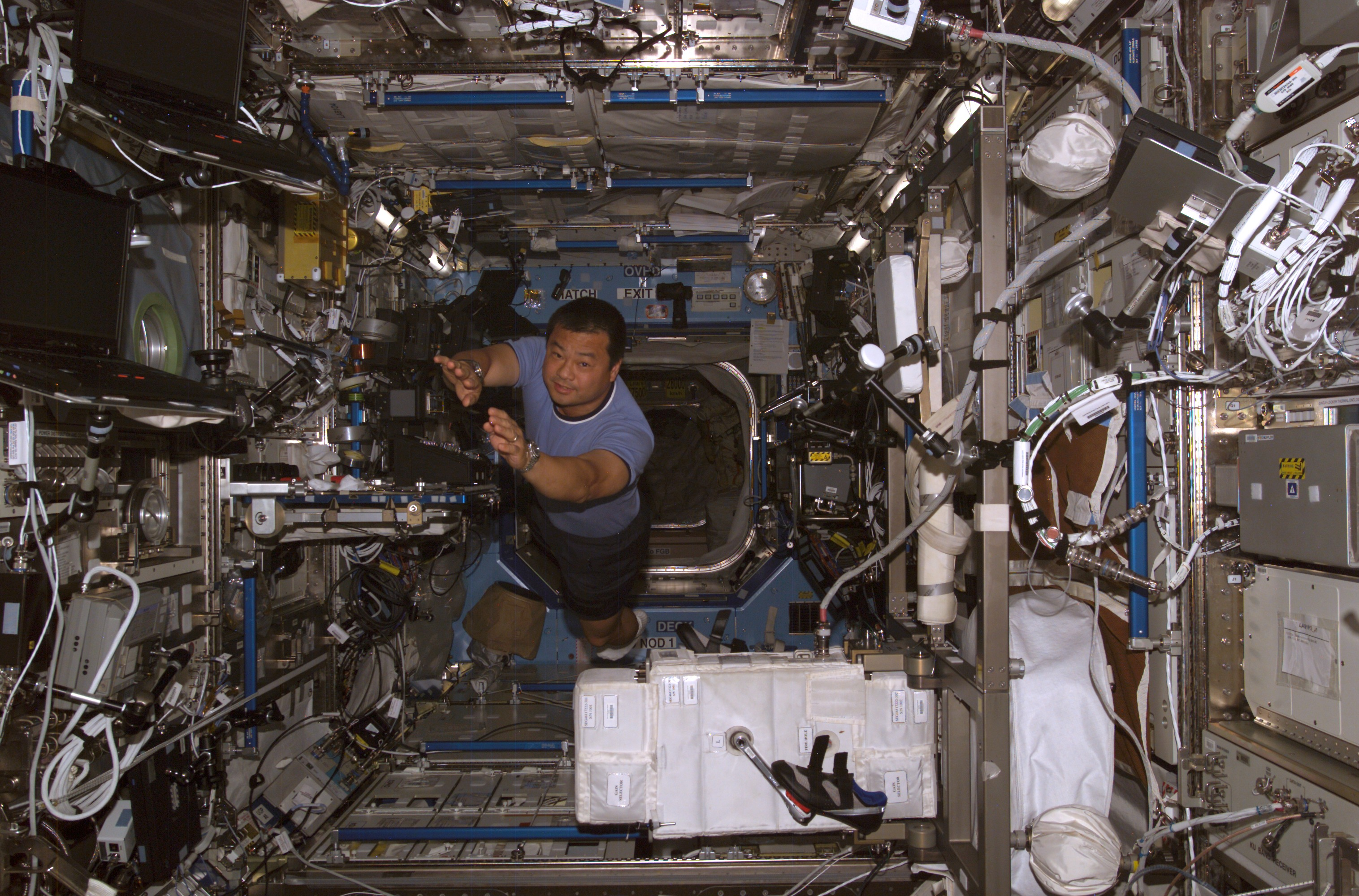 nasa space station inside - photo #22