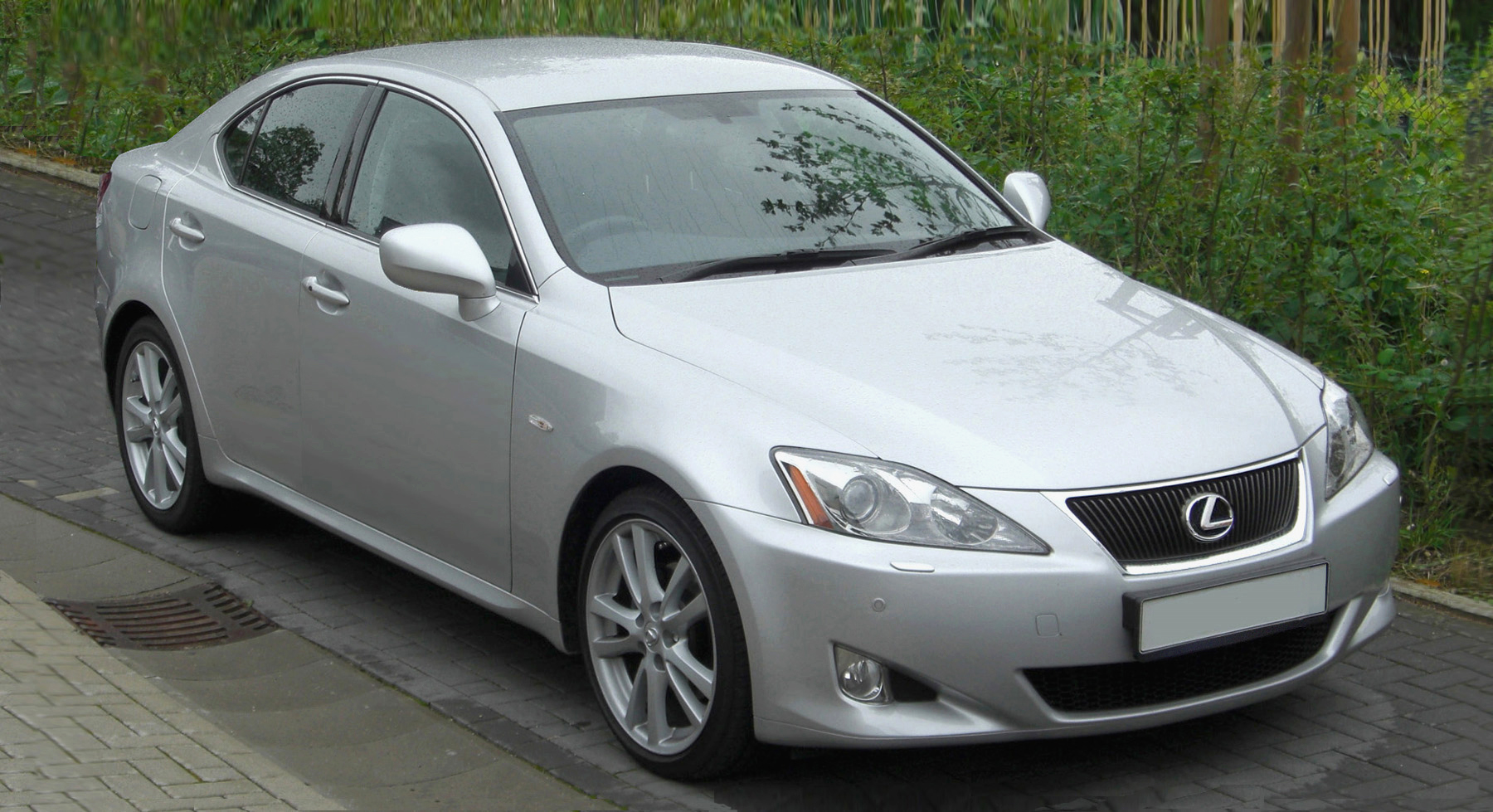 2005 Lexus IS, second generation with F marque variant in 2007