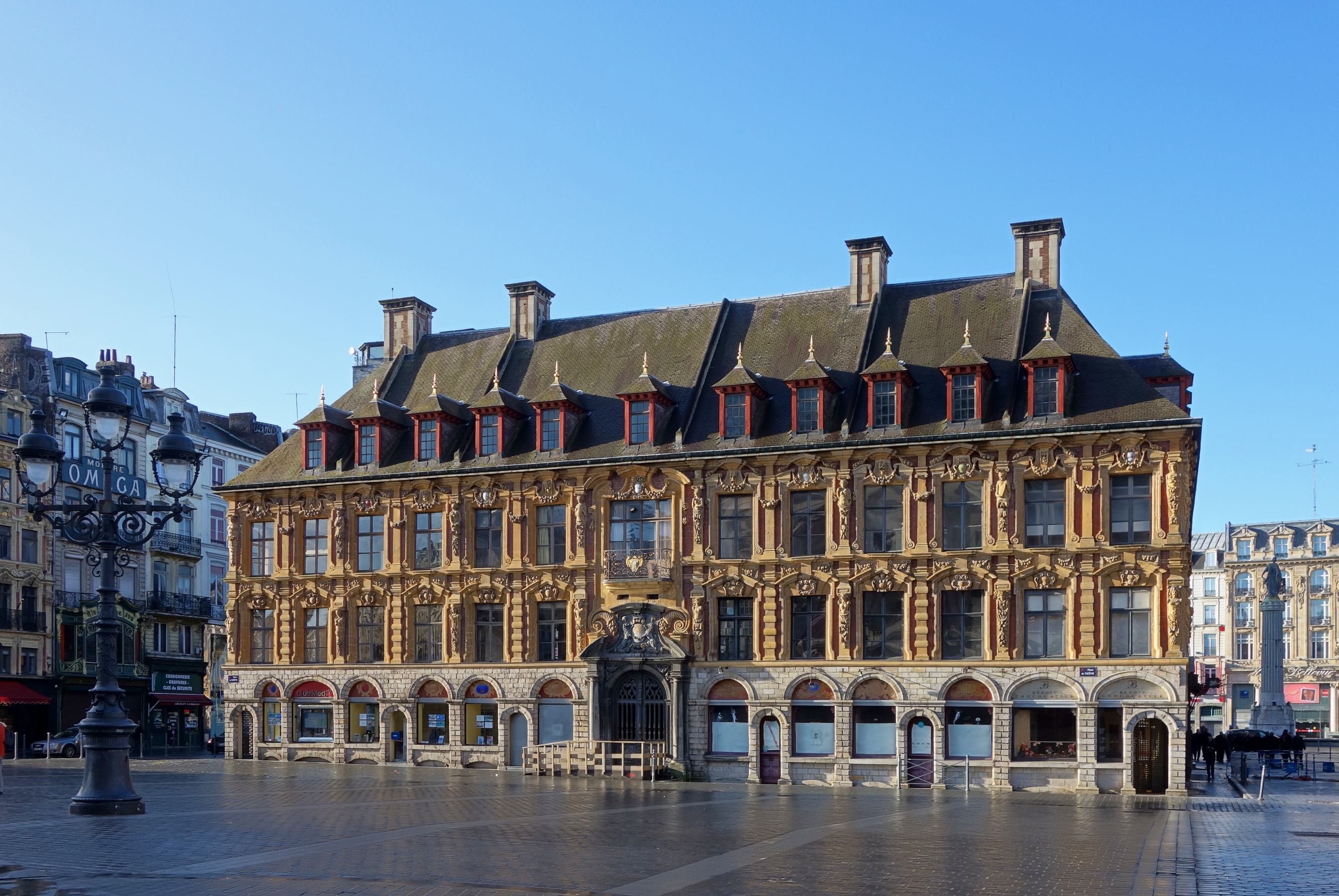 file lille vieille bourse place wikimedia commons. Black Bedroom Furniture Sets. Home Design Ideas