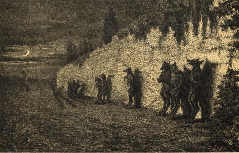 Loup garous dans les légendes rustiques de George Sand