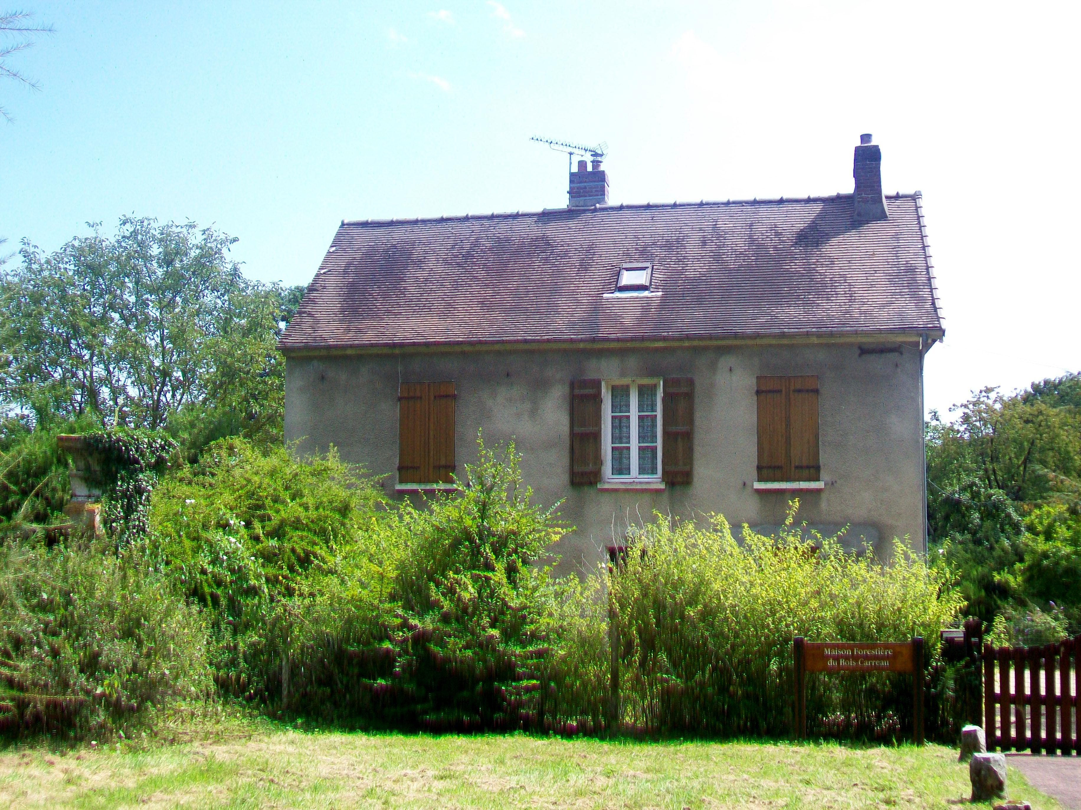 FileMaffliers (95), maison forestière du BoisCarreau, RD 64jpg  Wikimedia