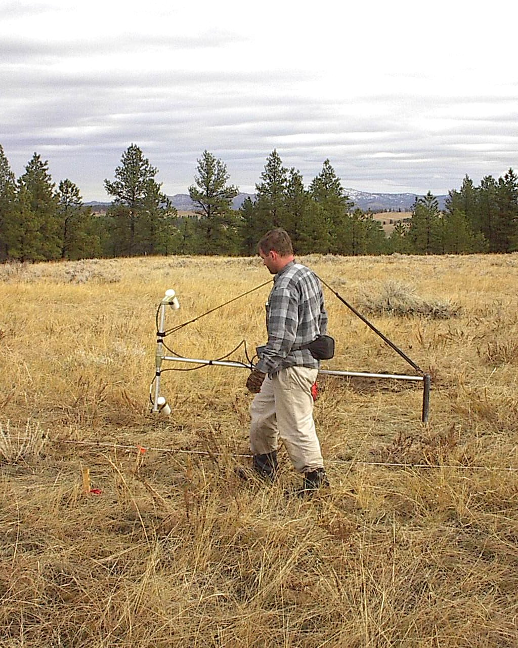 Gradiometer Survey Archaeology Magnetic Survey Archaeology