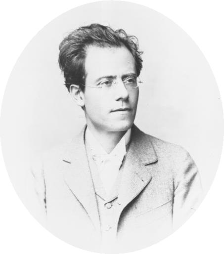 Photo Gustav Mahler via Opendata BNF