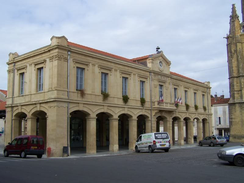 Halle-mairie de Boulogne-sur-Gesse