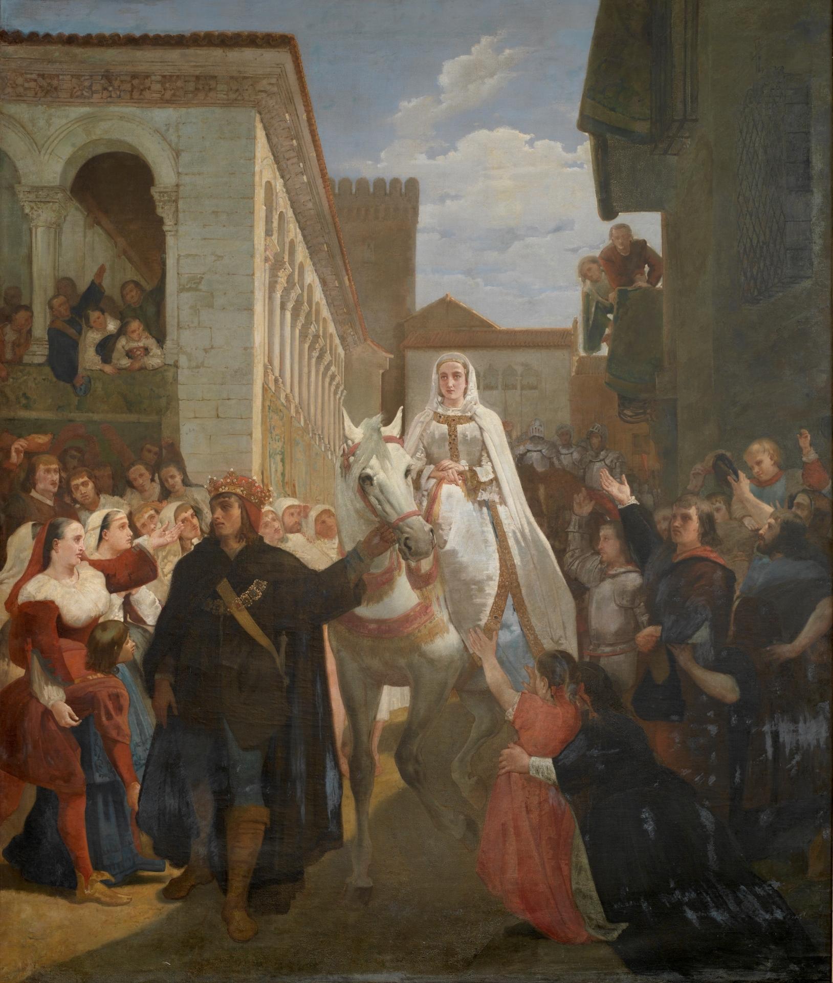 File:Manifestación del rey don Enrique IV de Castilla al ...