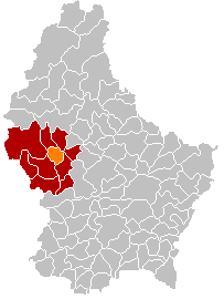 Commune in Redange, Luxembourg