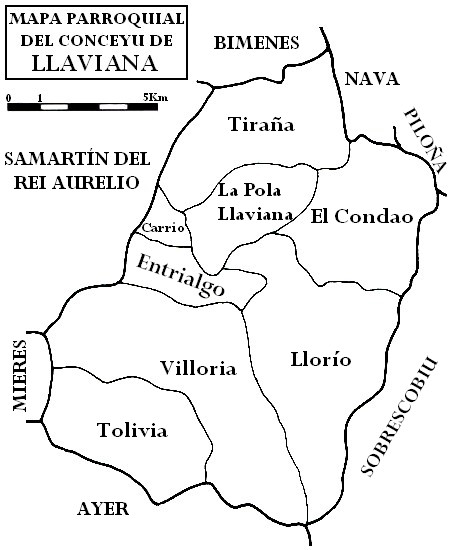 Pola De Laviana Mapa.File Mapa Parroquial De Llaviana Jpg Wikimedia Commons
