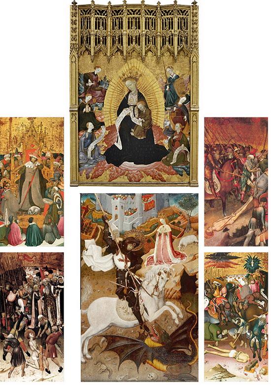 Saint George Killing the Dragon 1430-35