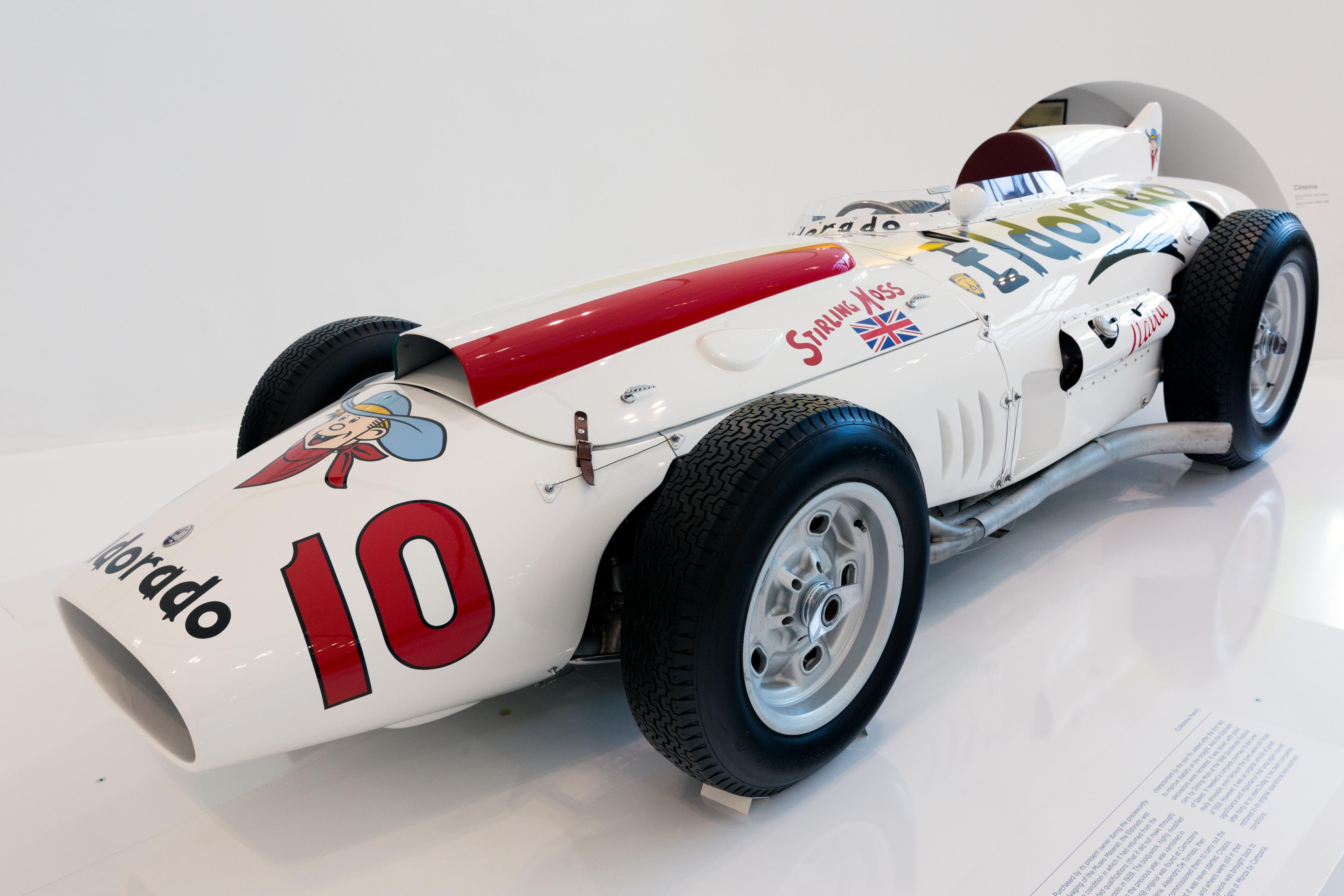 File Maserati 420m Eldorado Front Left Enzo Ferrari Museum