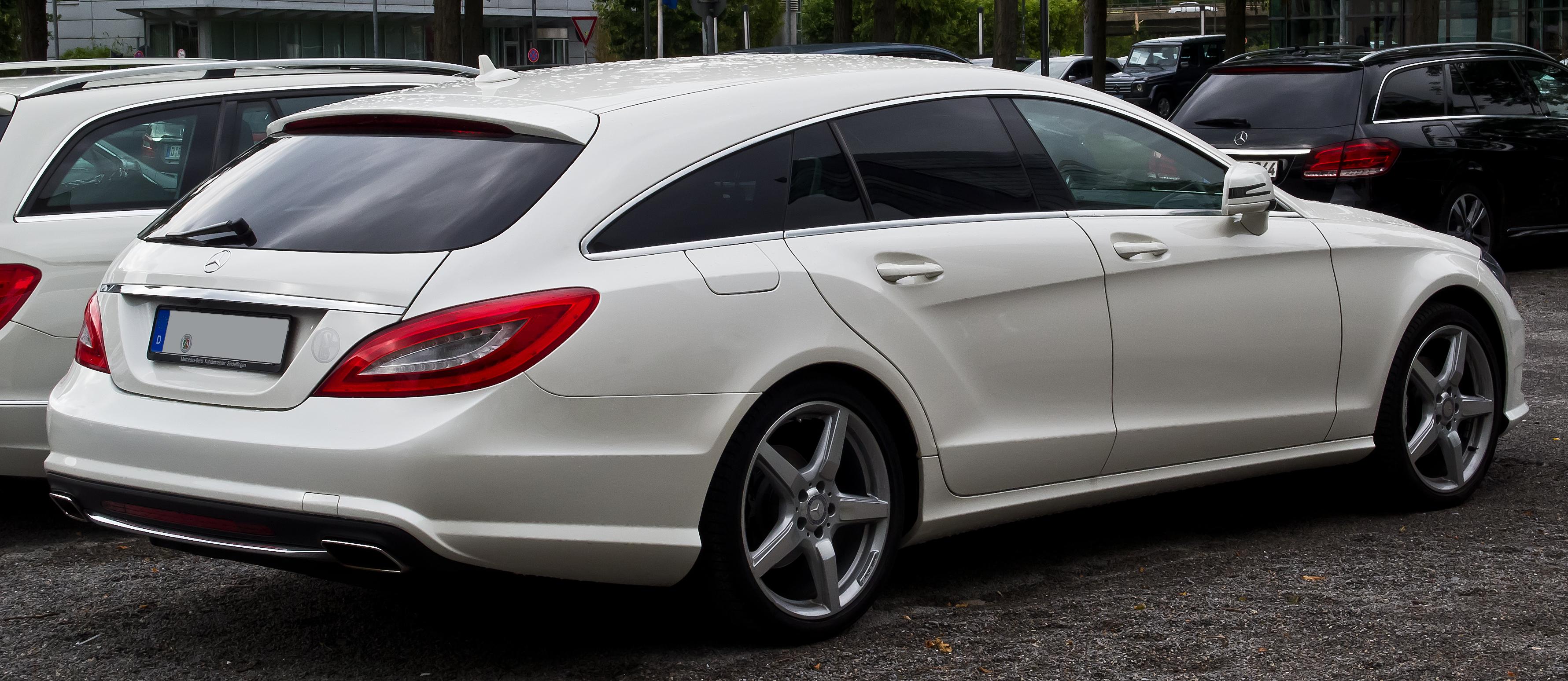 File Mercedes Benz Cls 350 Cdi Shooting Brake Sport Paket