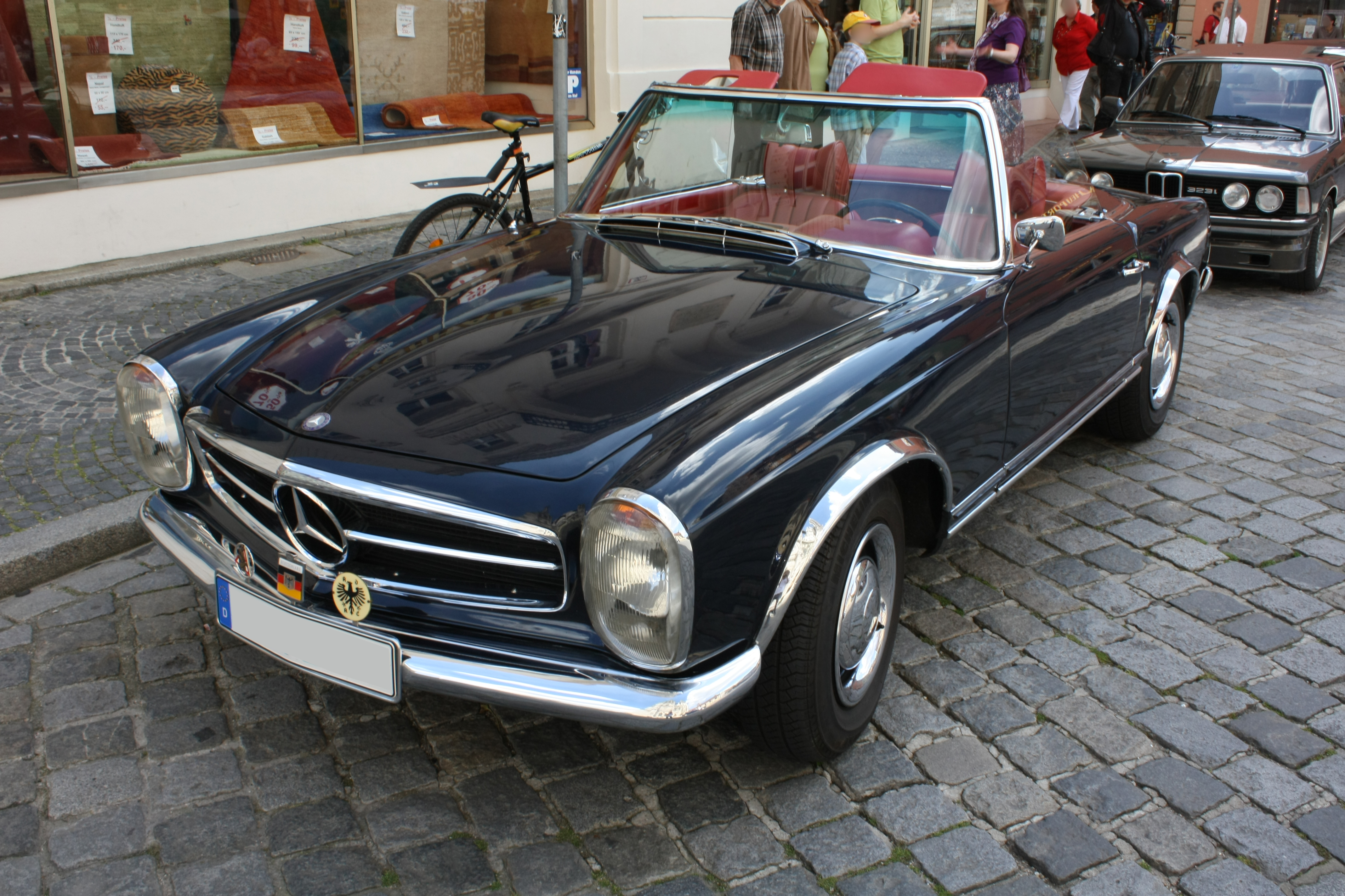 File mercedes benz w113 230sl automatic for Mercedes benz 230sl