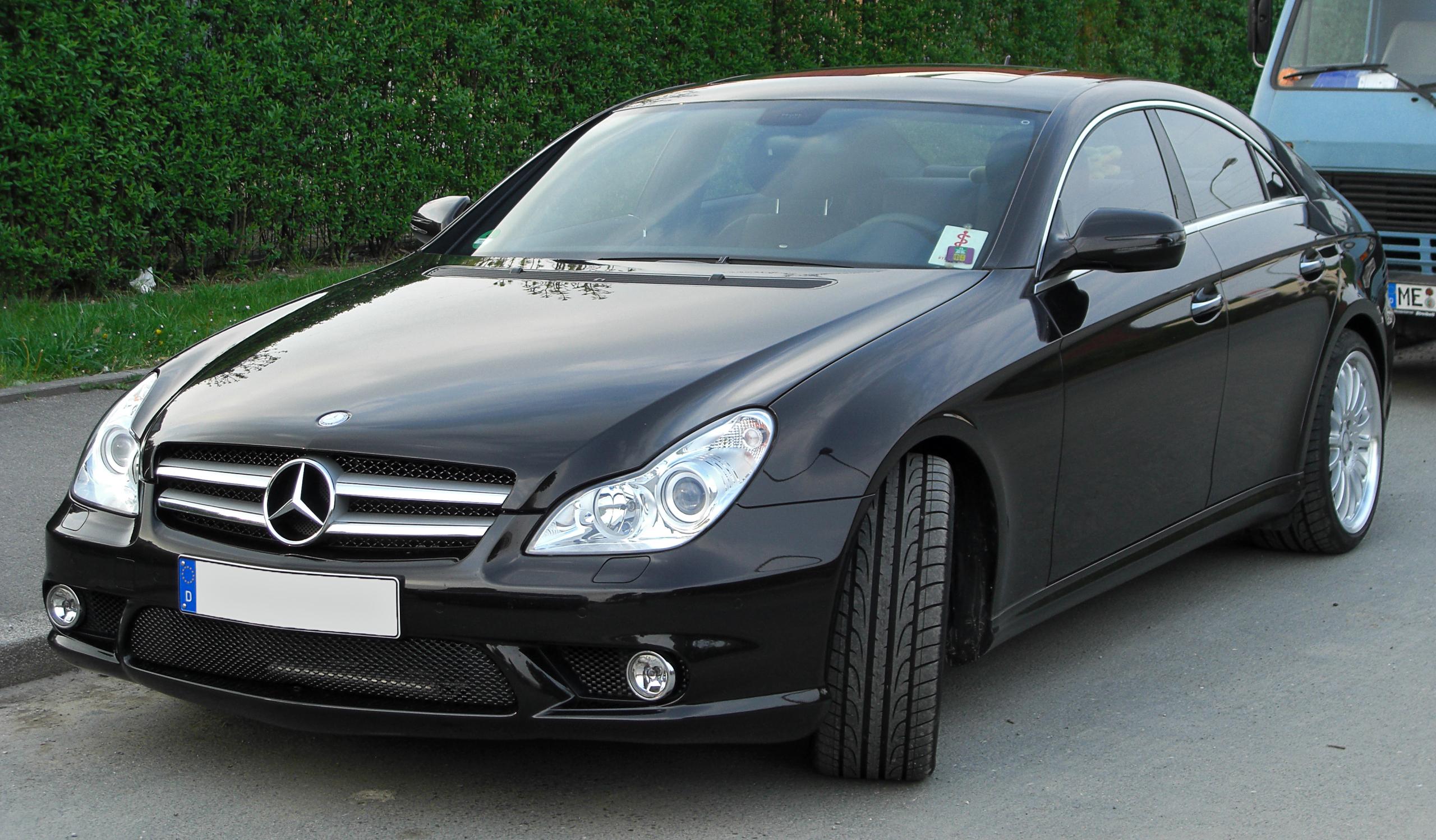 File Mercedes Cls Amg Sportpaket C219 Facelift Front