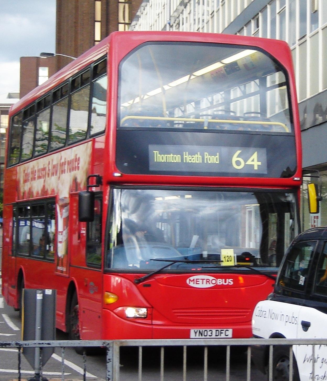 File Metrobus 456 Yn03 Dfc On Route 64 Jpg