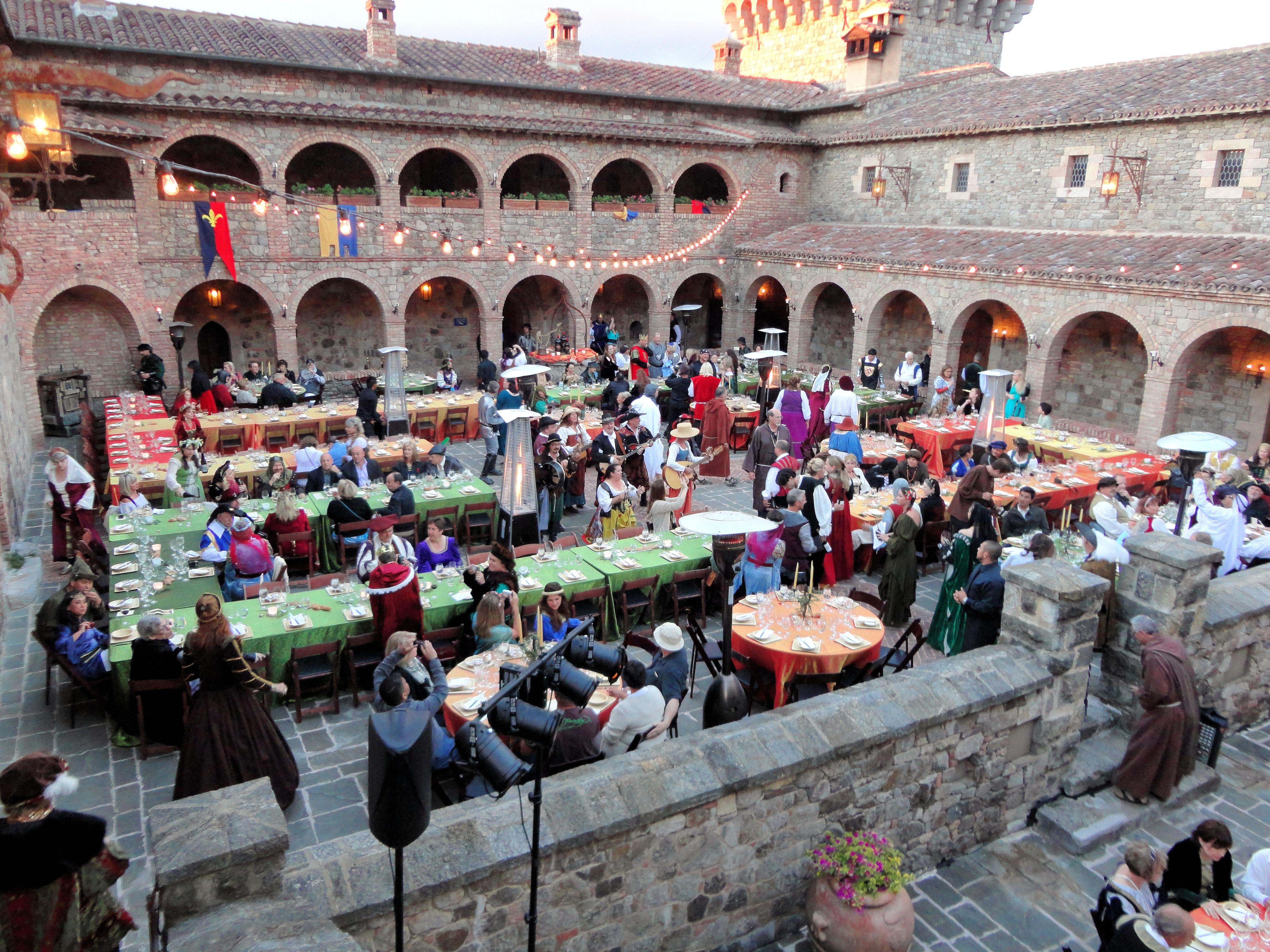 Castello Di Amorosa Winery Tour
