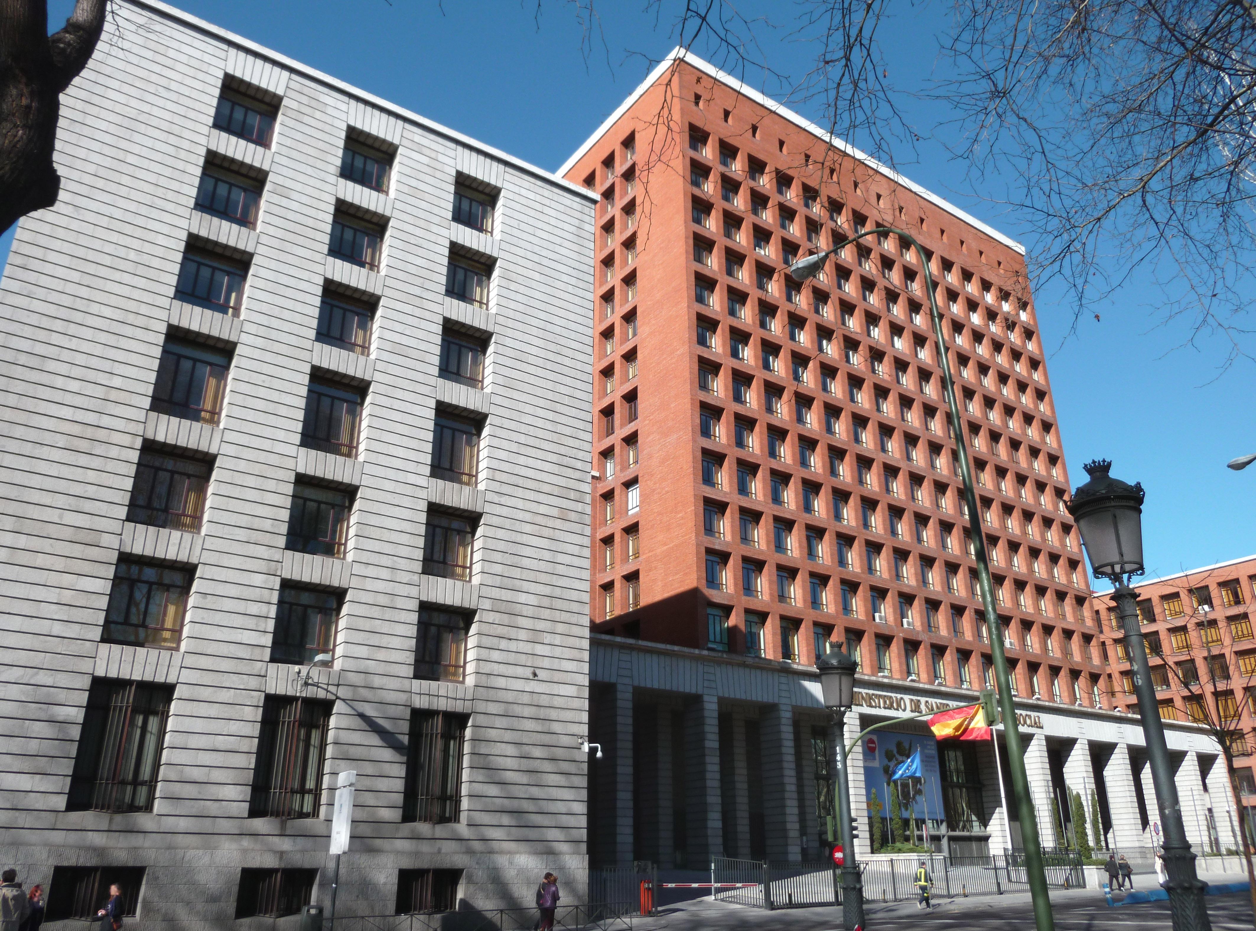 File ministerio de sanidad de espa a madrid for Ministerio de seguridad espana