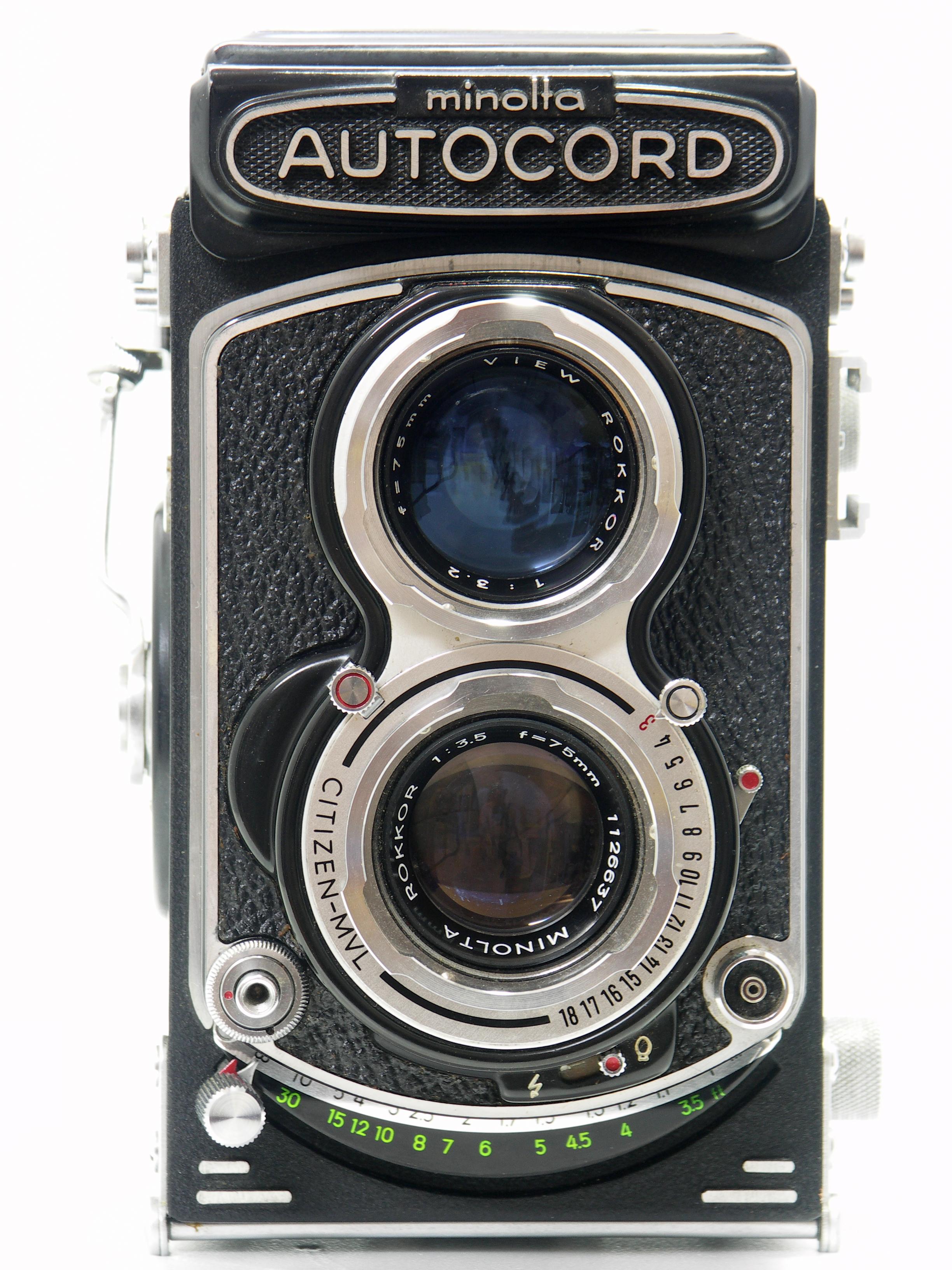 MINOLTA AUTOCORD | CameraShiz!