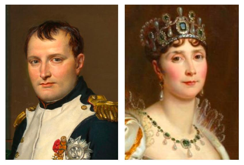 Napoléon - Joséphine de Beauharnais - Épouse de Napoléon - SchoolMouv - Histoire - CM1
