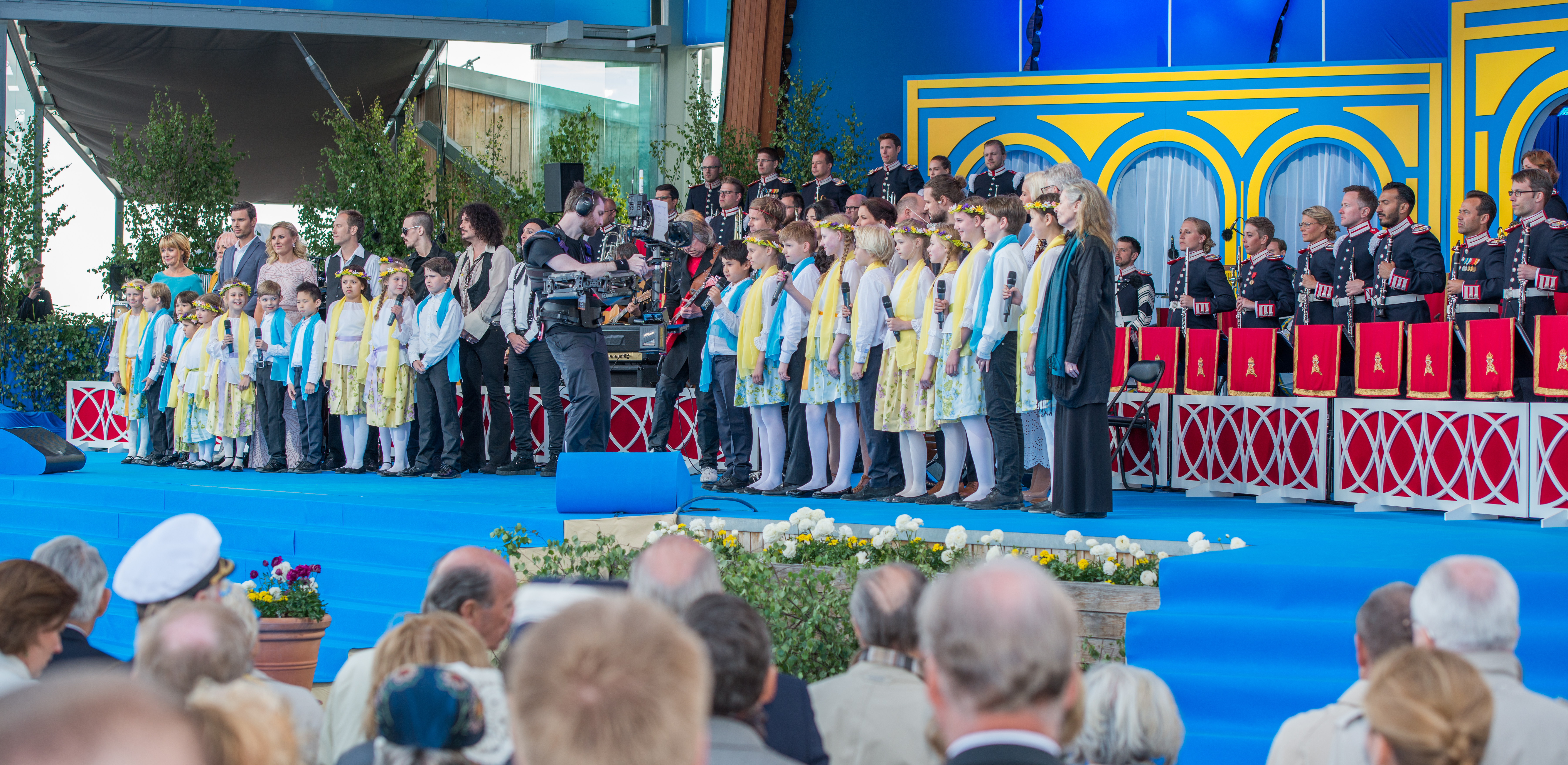 Swedes celebrate National Day, 2016.