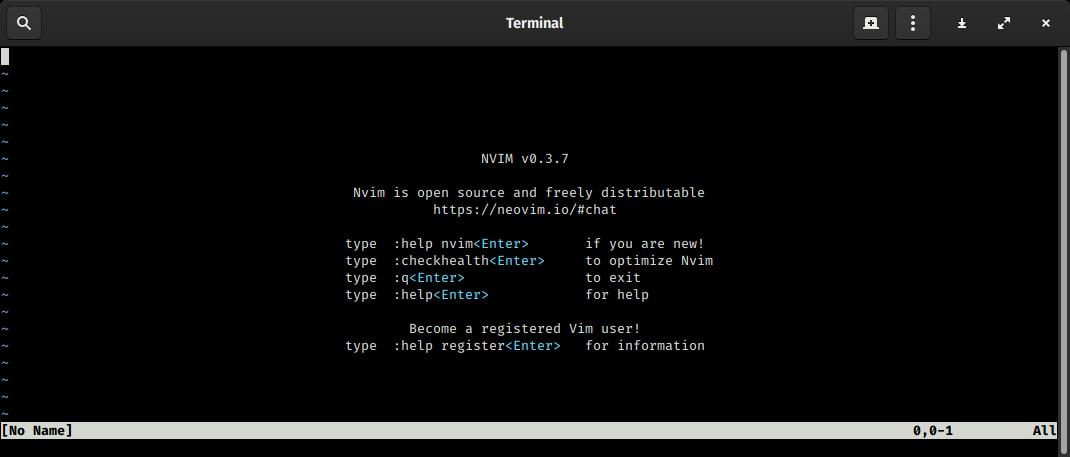 File:Neovim 0 3 7 running under GNOME Terminal png - Wikimedia Commons
