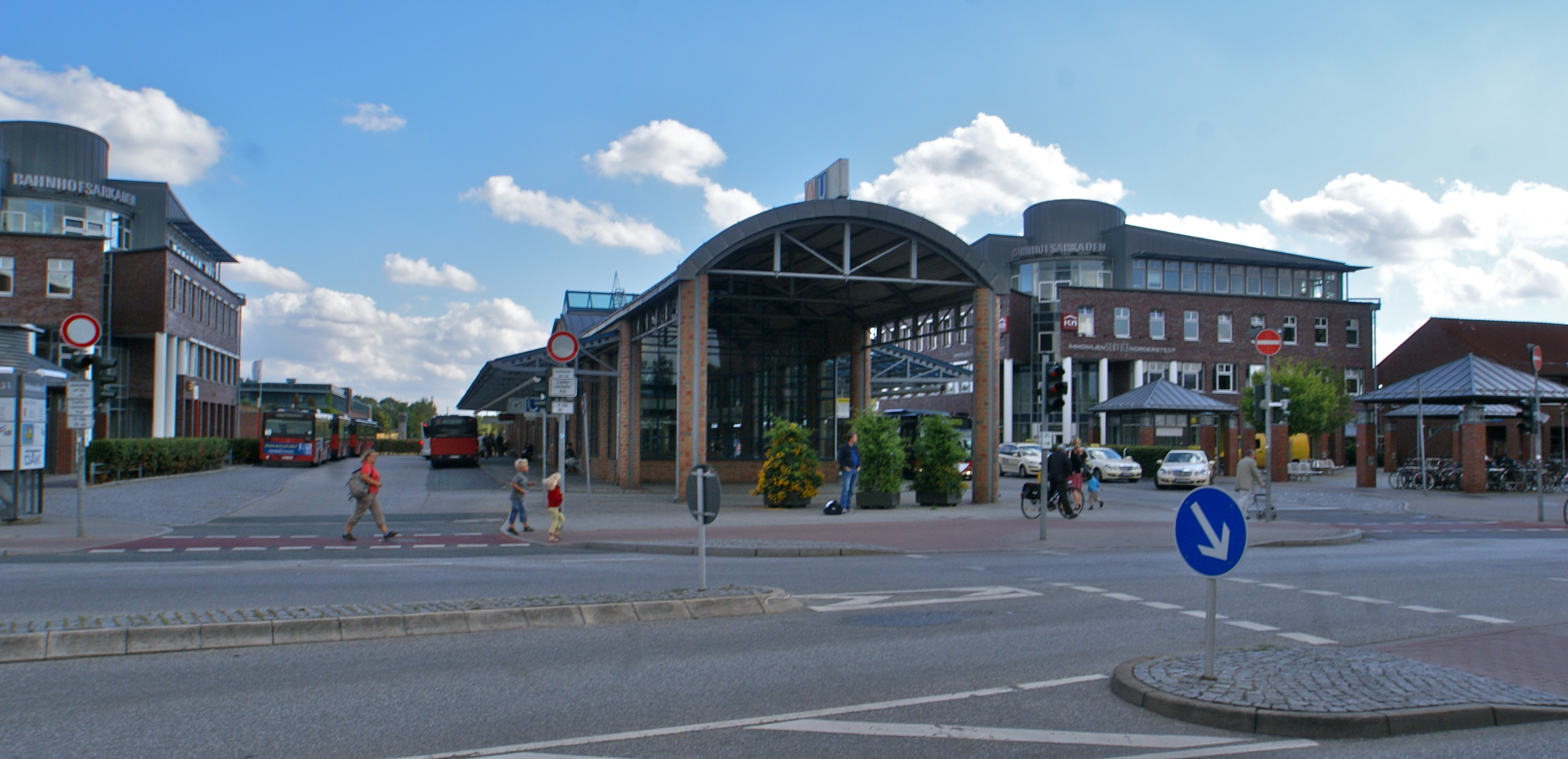 Norderstedt Germany  City pictures : Norderstedt Bahnhof Wikimedia Commons
