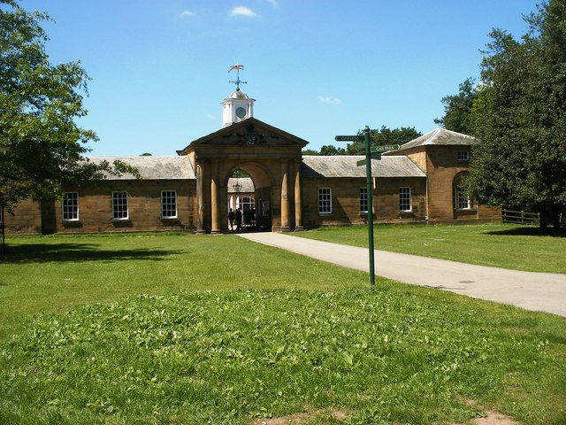Old Stables at Renishaw Hall-geograph-2440600