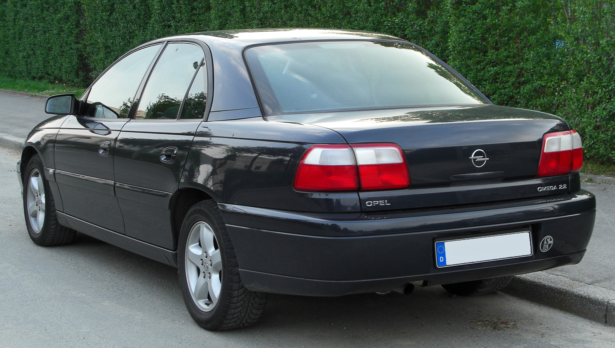 file opel omega ii facelift rear wikipedia. Black Bedroom Furniture Sets. Home Design Ideas