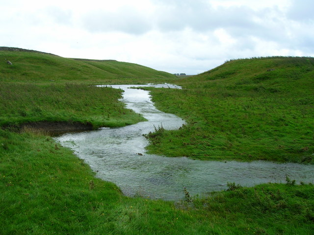 File:Overflowing Stream after prolonged rain - geograph.org.uk - 1481335.jpg