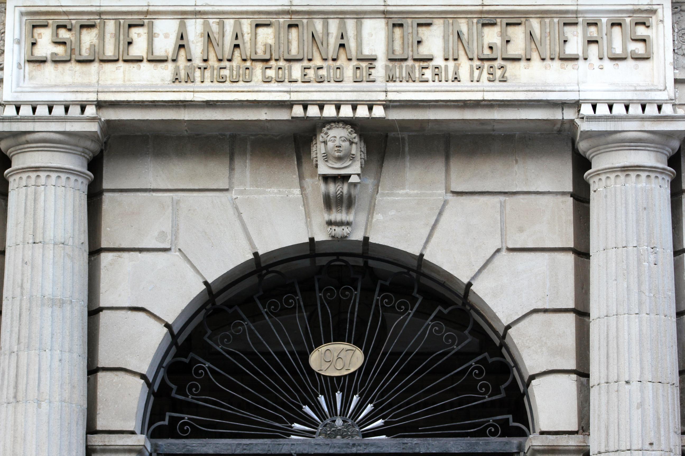 Archivo palacio de miner a escuela nacional de ingenieros for Escuela de ingenieros