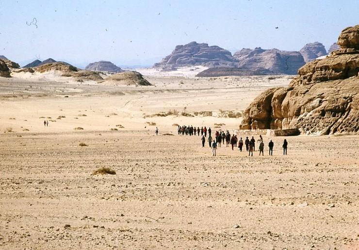 גן-שמואל-בטיול הקבוץ לסיני 1981