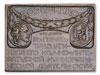 Plaquette to honor numismatist Alexey Oreshnikov Back.jpg