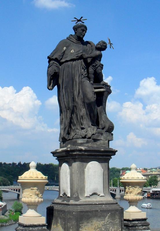 Statue of Anthony of Padua, Charles Bridge