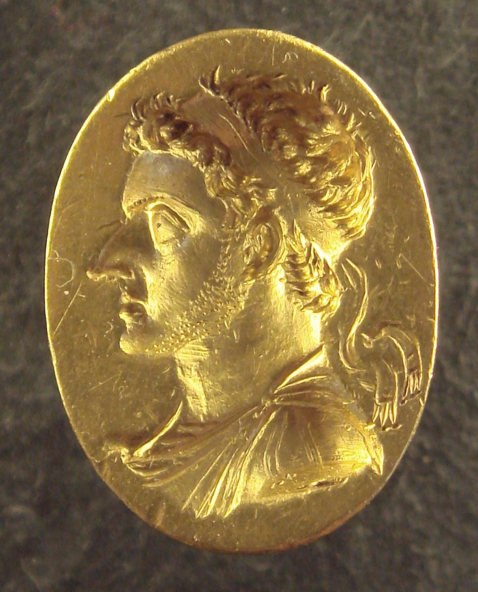 Ptolemy VI Philometor ring Πτολεμαίος Στ Φιλομήτωρ