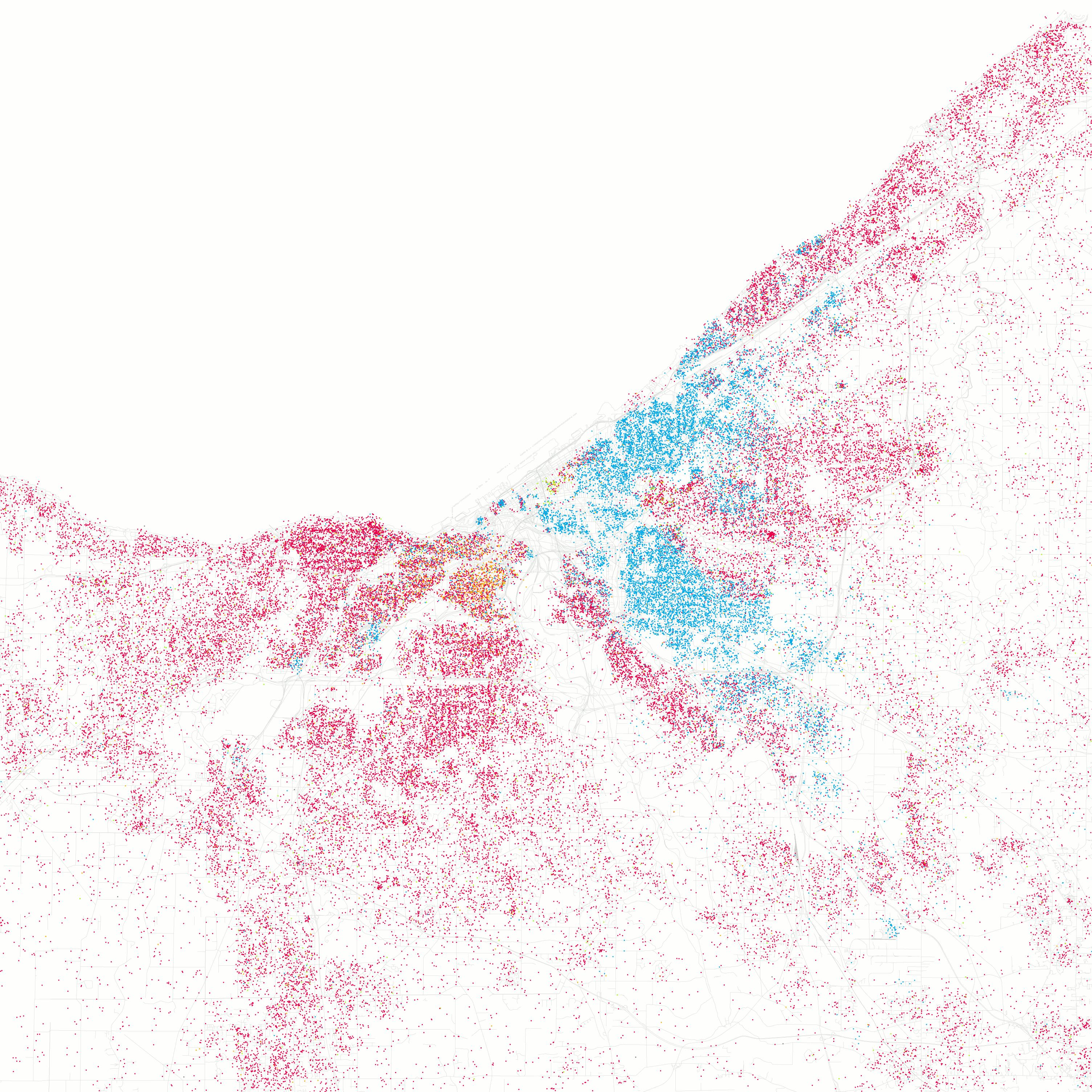 Demographics Of Cleveland Wikipedia