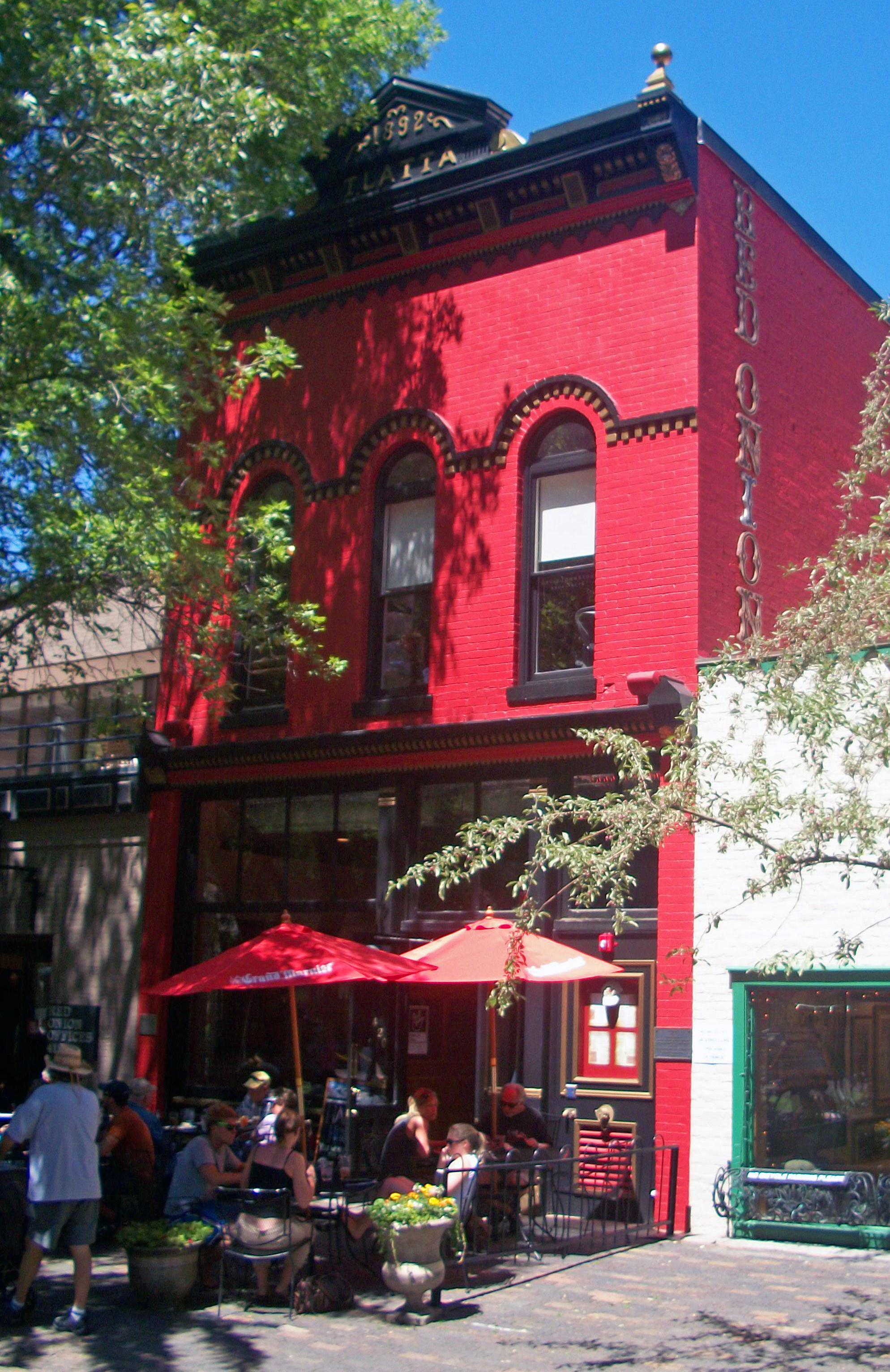 Red Onion Restaurant Woodstock New York