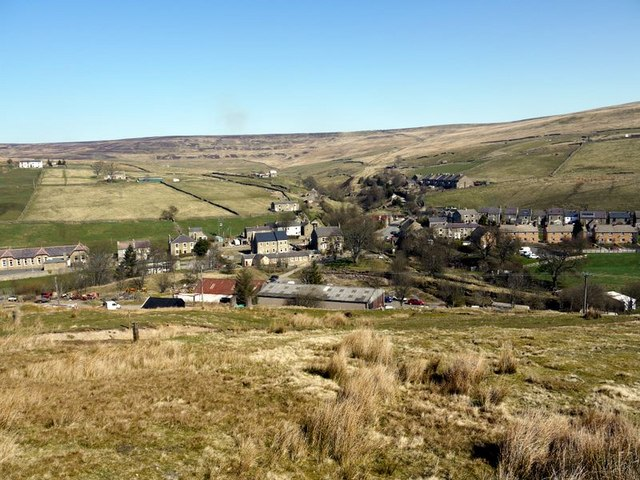 Rookhope village - geograph.org.uk - 1235247