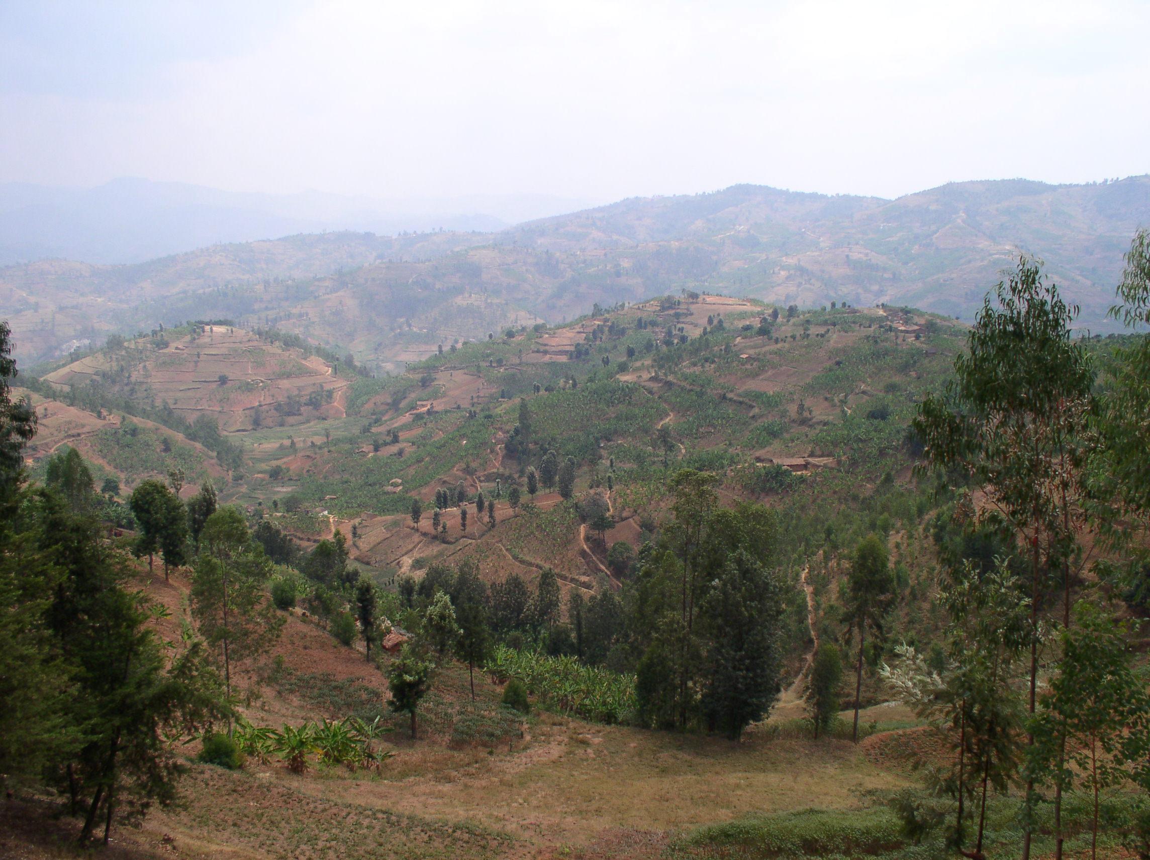 Rwanda Gitarama landscape.JPG