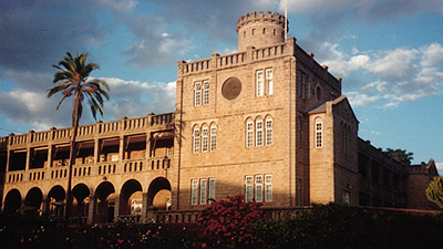 St George's College, Harare was established in 1896 by a French Jesuit Saint-Georges-College.jpg