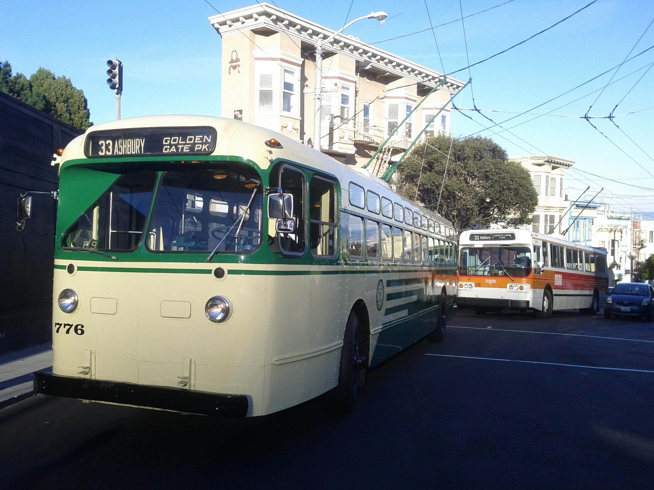 how to take the trolley in san francisco