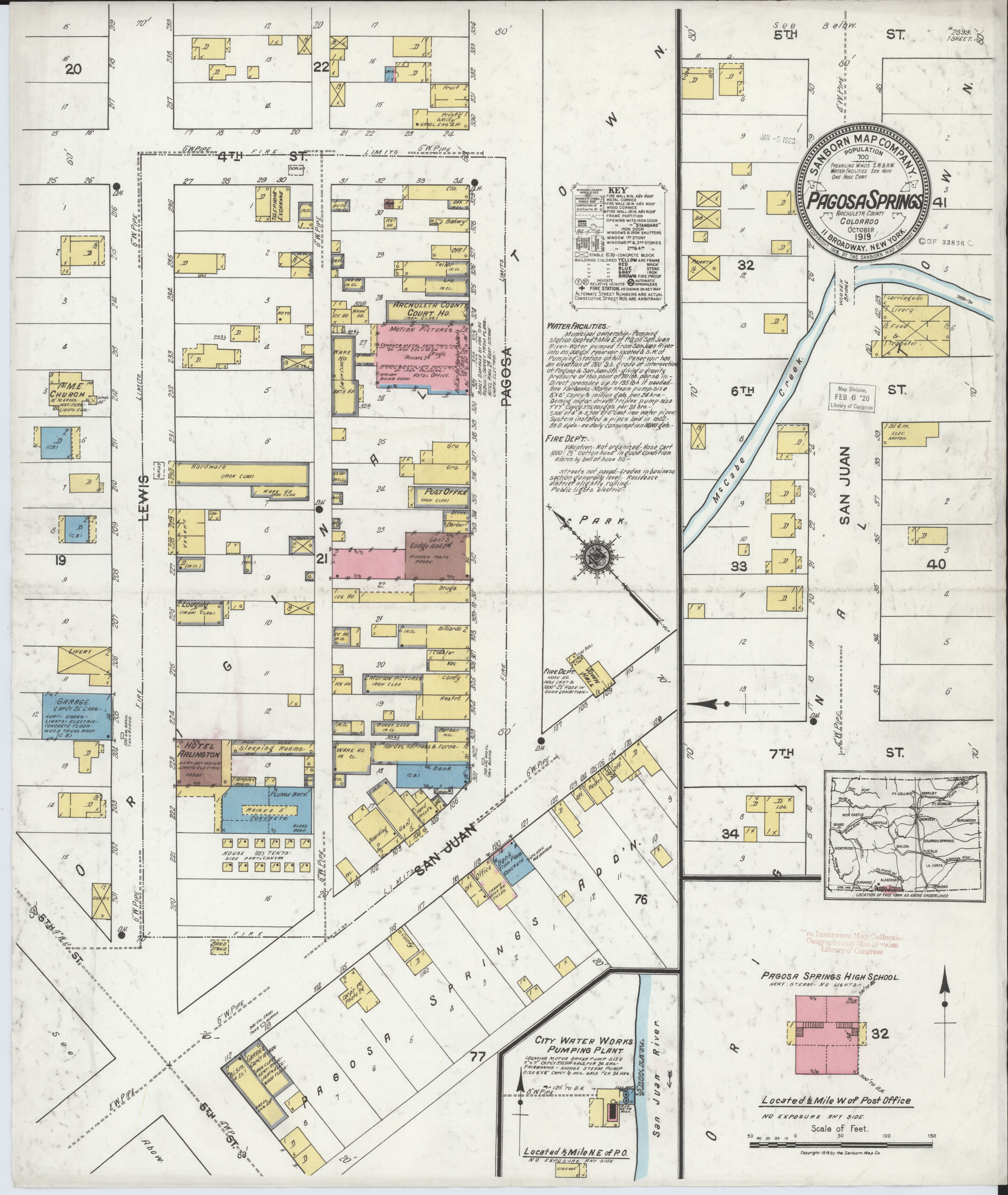 File:Sanborn Fire Insurance Map from Pagosa Springs, Archuleta ...