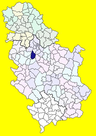 lazarevac mapa srbije Opština Lazarevac   Wikiwand lazarevac mapa srbije