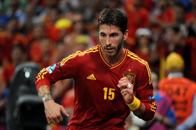 Sergio Ramos Euro 2012 vs France 02