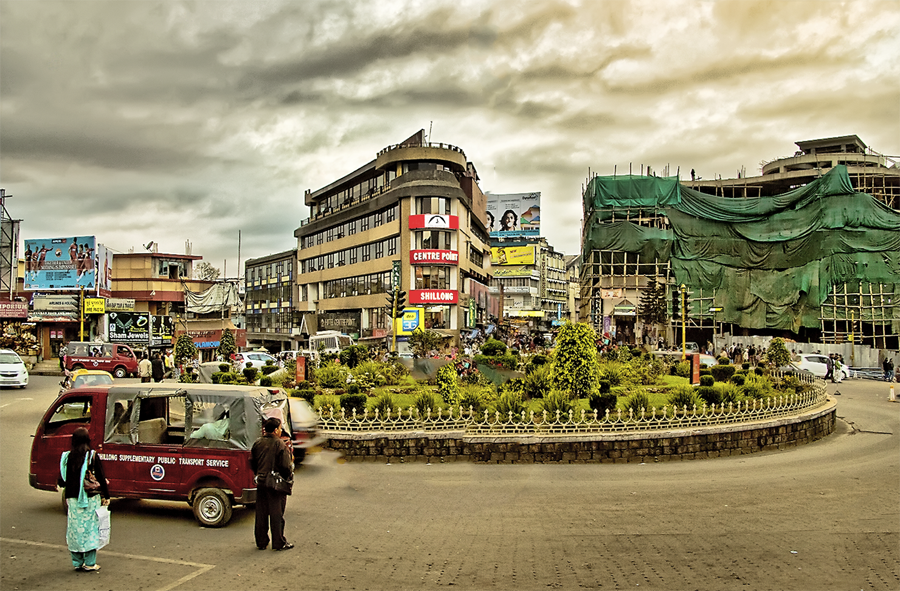 A click of Bara Bazaar Shillong which is one of the best attractions in Meghalaya