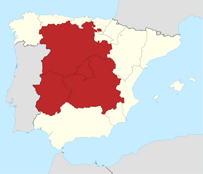 Map Of Central Spain.File Spain Location Map Central Spain Png Wikimedia Commons